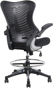 Drafting  Chair with Flip Up Arm