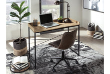 "Load image into Gallery viewer, Natural Wood Finish 43"" Home Office Desk"