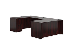 "66"" Laminate U Shape Desk"
