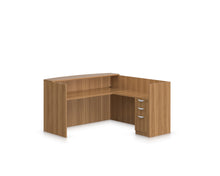 "Load image into Gallery viewer, 71"" Laminate Receptionist Desk and Return"