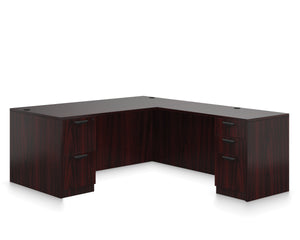 "66"" Laminate Desk with Return"