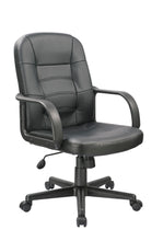 Load image into Gallery viewer, Black Polyurethane Desk Chair