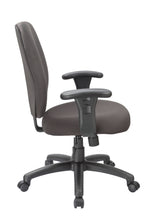 Load image into Gallery viewer, Black Fabric Desk Chair