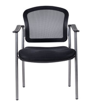 Load image into Gallery viewer, Mesh Back Guest Chair With Arms
