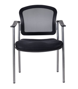Mesh Back Guest Chair With Arms