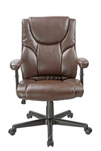 Load image into Gallery viewer, Brown Vinyl Executive Desk Chair