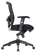 Load image into Gallery viewer, Black Mesh Back Desk Chair
