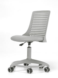 Adjustable Height Kids Desk Chair Grey - OUT OF STOCK