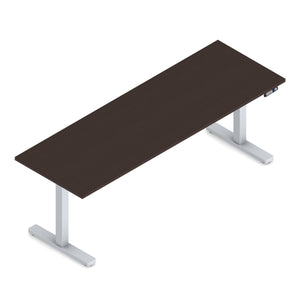 71 x 24 Height Adjustable Sit-Stand Desk - SPECIAL ORDER