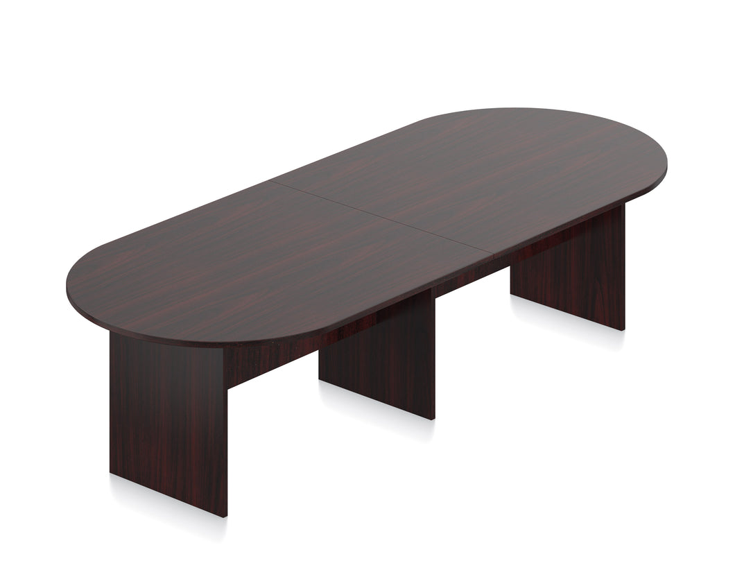 Laminate Racetrack Conference Table - 10'