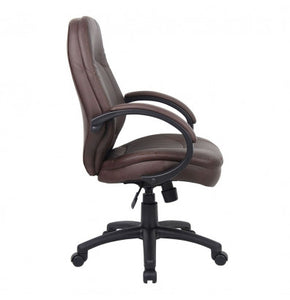 Bomber Brown Desk Chair