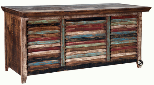 Rustic Multi Color Desk