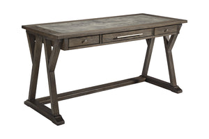Faux Marble Gray Writing Desk - OUT OF STOCK