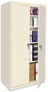"72"" Putty Metal Storage Cabinet - OUT OF STOCK"