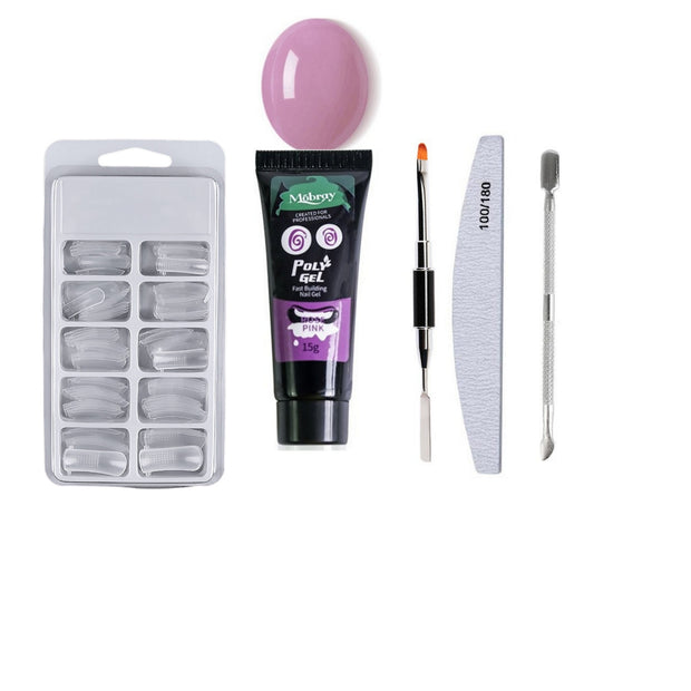 POLYGEL NAIL KIT-Beauty Sets And Kits-Beauty sets and kits