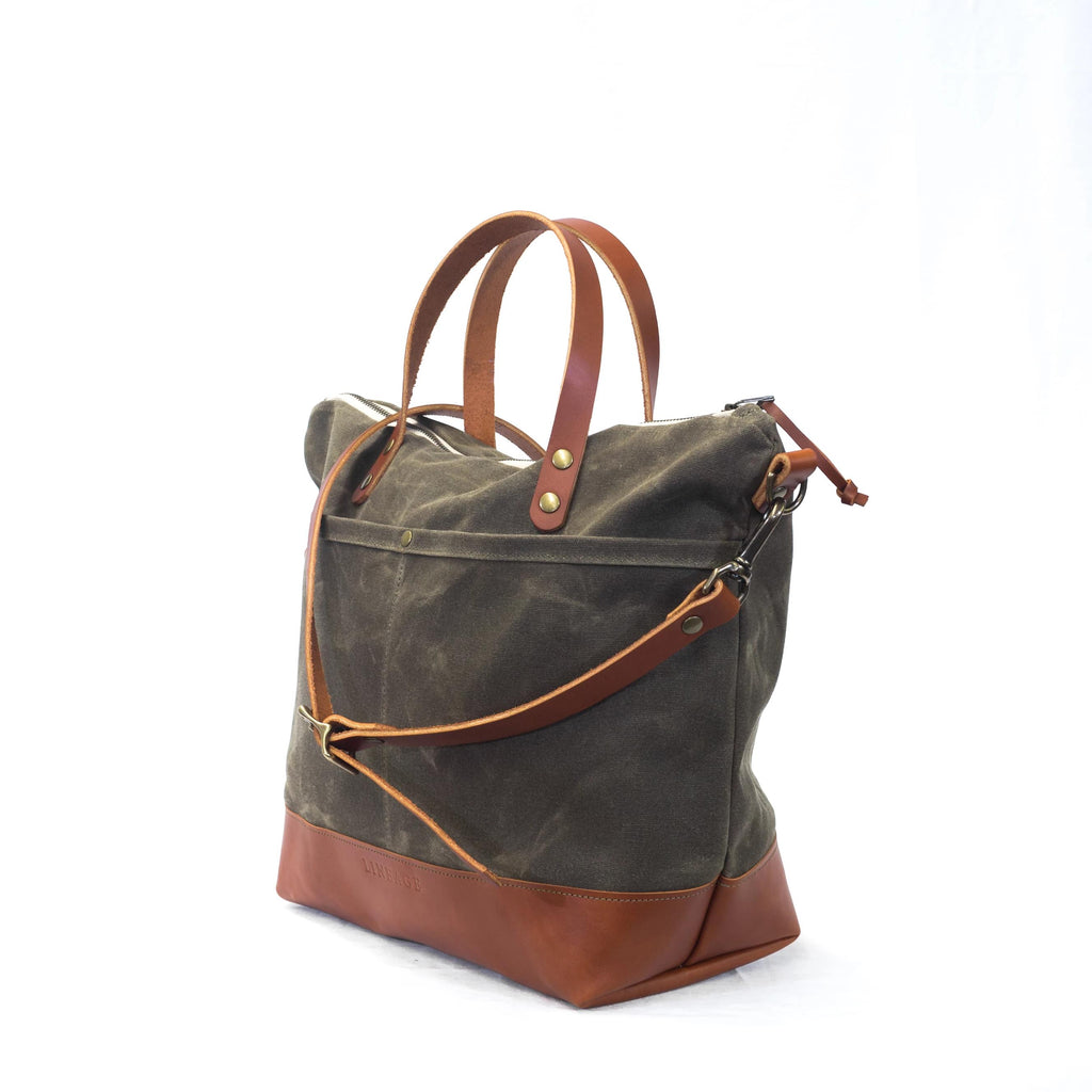 Rapidan Deluxe Crossbody Tote - Field Tan