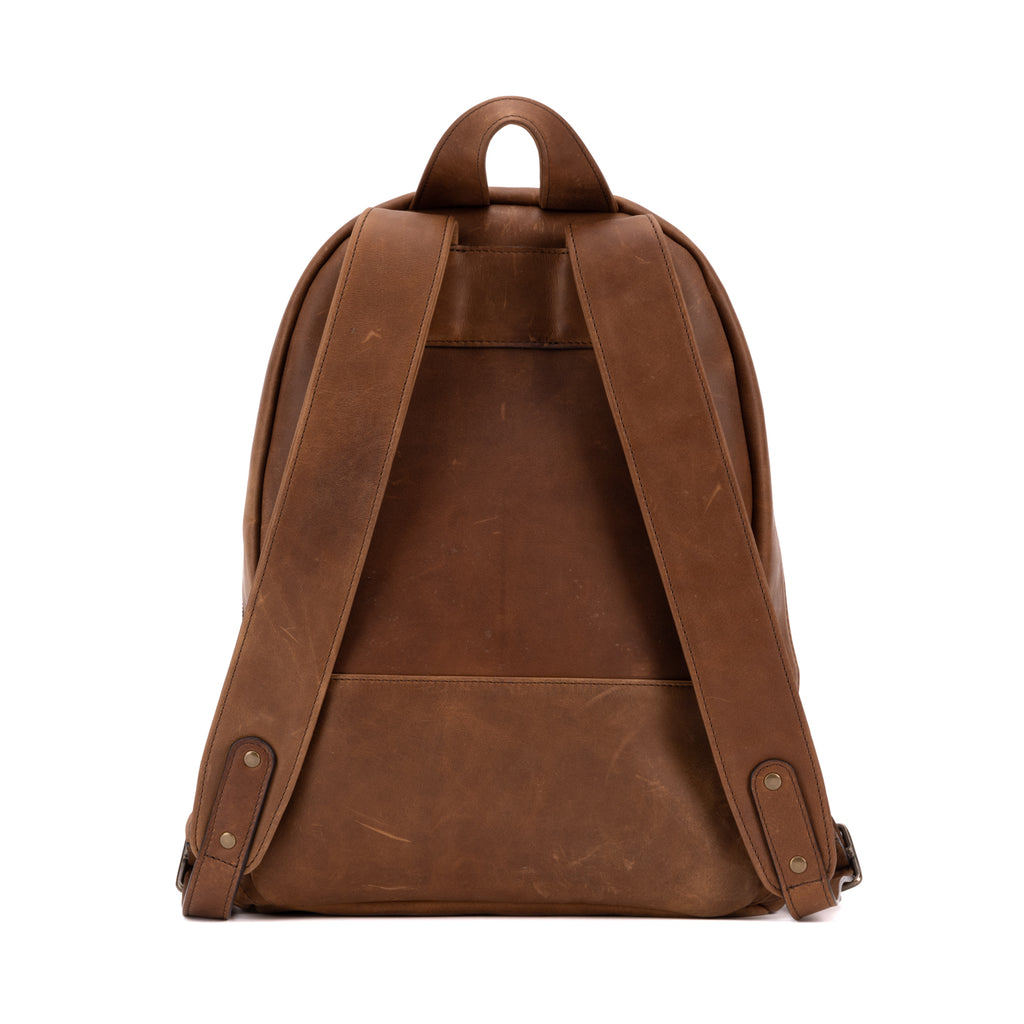 Reclaimed Backpack, Leather