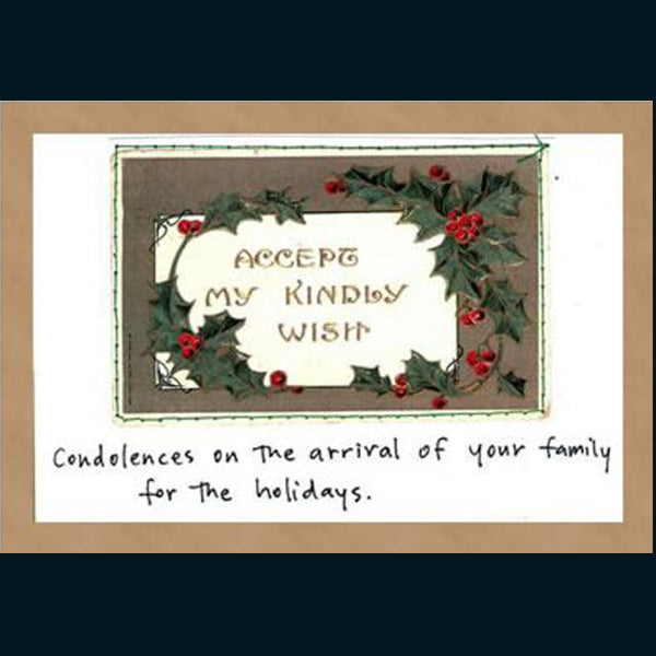 Holiday Cards, 6 Card Set