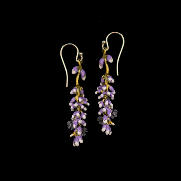 Cluster of Lavender Earrings