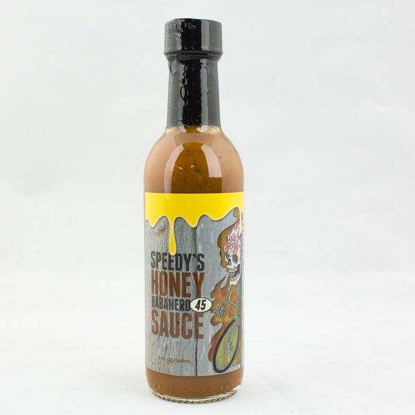 "Speedy's #45 ""Honey Habanero"" from Speedy's Hot Sauce"