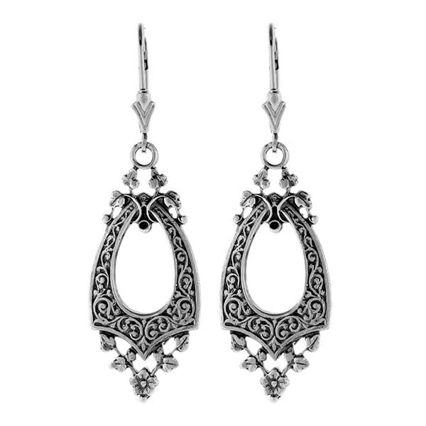 Hugo Kohl Sterling Silver Earrings, model ER056