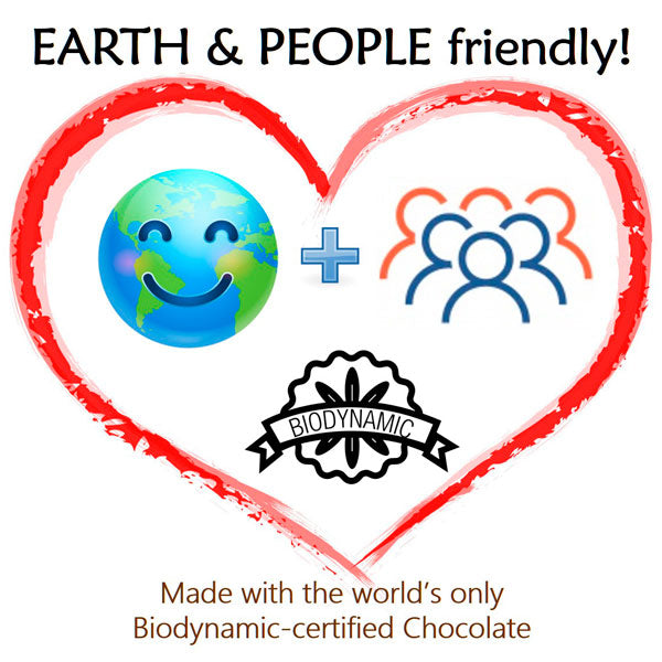 Clean Conscience Chocolates are Earth & People Friendly