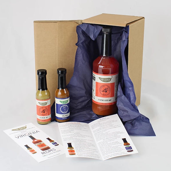 Clark & Hopkins Exclusive Hot Sauce Gift Box