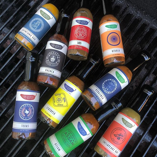 Flavors of The World Hot Sauce Gift Box
