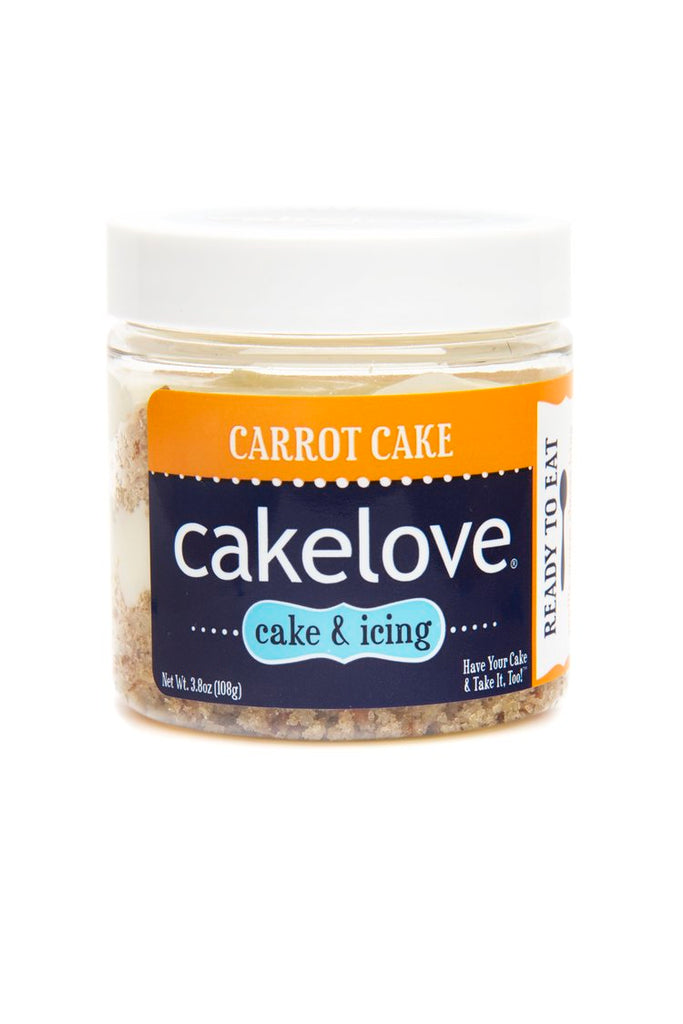 Carrot Cake, Cake in a Jar, 4 oz