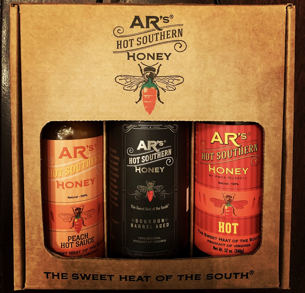 Catch a Buzz Honey 3 Pack by AR's Hot Southern Honey