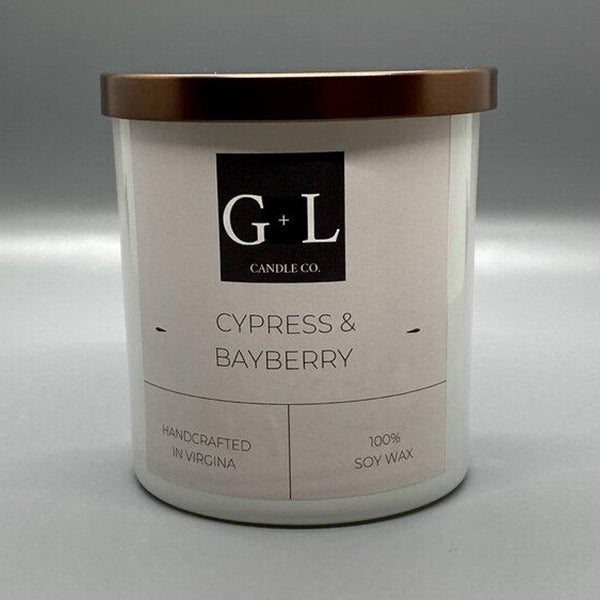 Cypress and Bayberry Candle, 8oz.