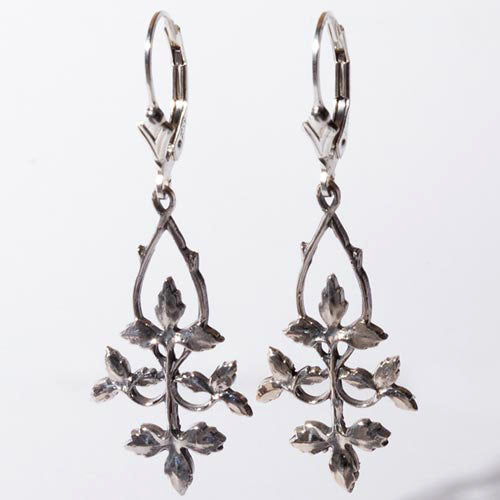 Ivy Sterling Silver Earrings