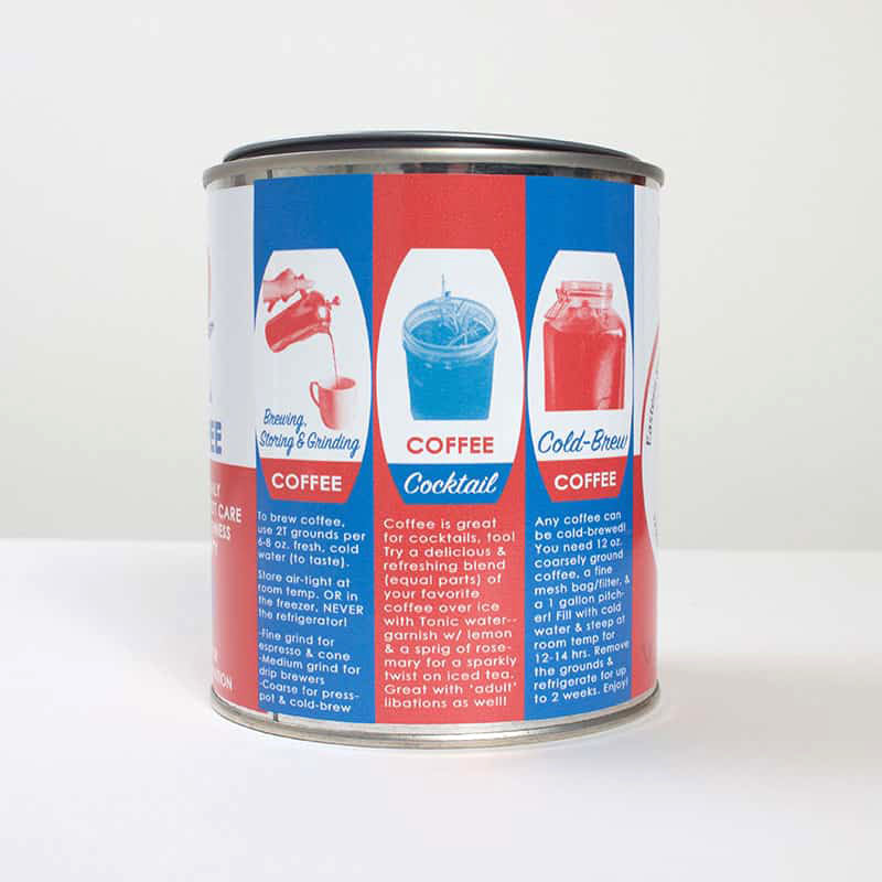 Vintage Oyster Cans Coffee by Eastern Shore Coastal Roasting Co.