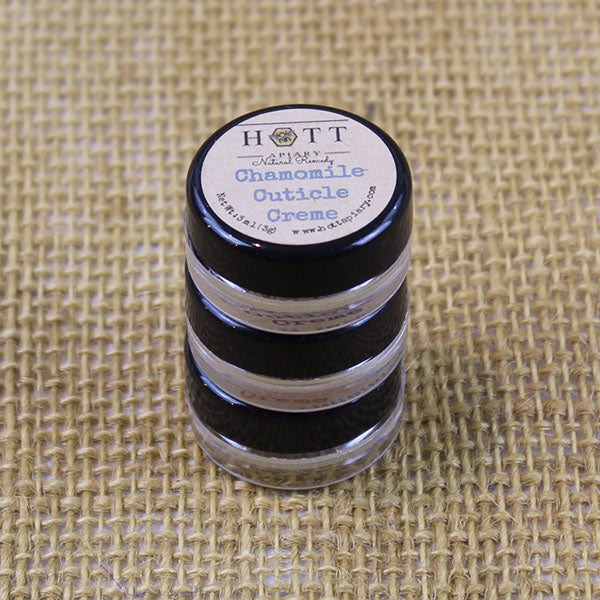 Cuticle Creme 3-packs from Hott Apiary - Chamomile