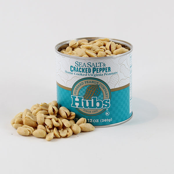 Hubs Peanuts Special Trio Gift Box - Sea Salt Cracked Pepper