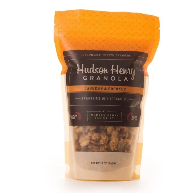Cashews and Coconut Granola by Henry Hudson Baking Co.