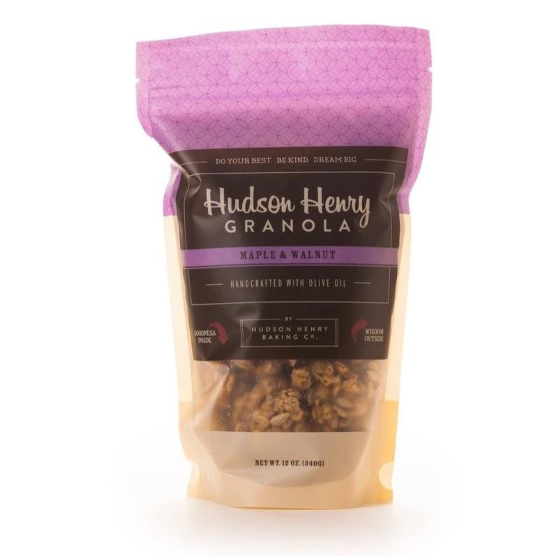 Maple and Walnuts Granola by Henry Hudson Baking Co.