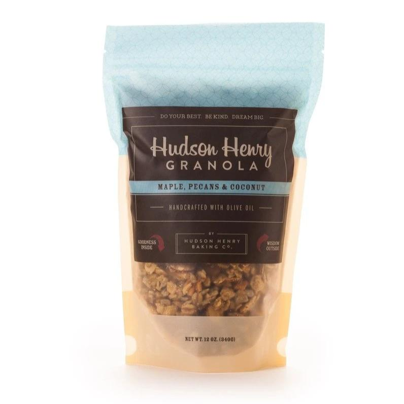 Maple, Pecans and Coconut Granola by Henry Hudson Baking Co. | The Virginia Living Store