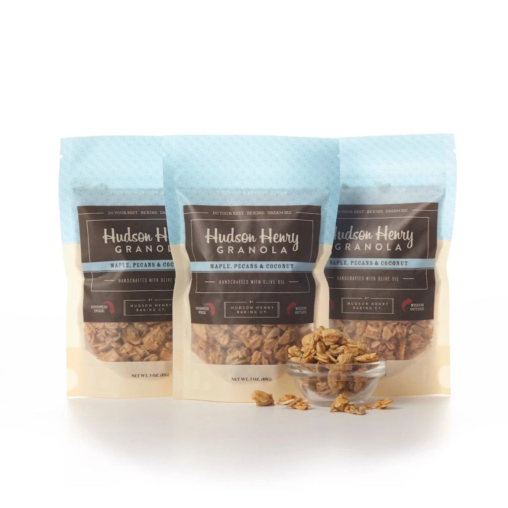 Pecan Granola Snack Packs by Henry Hudson Baking Co.