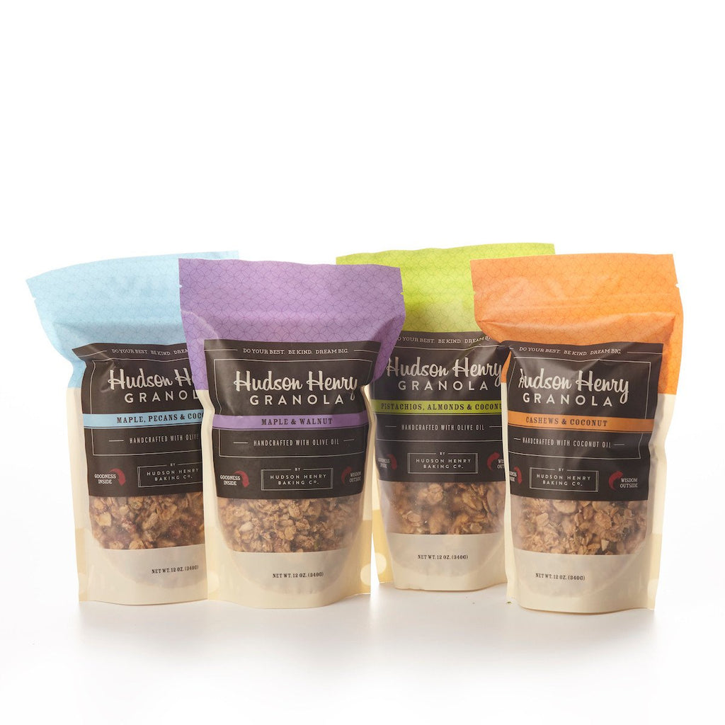 Granola 4 pack by Henry Hudson Baking Co.