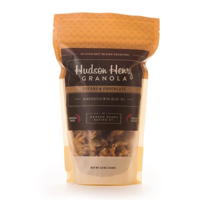Pecans and Chocolate Granola by Henry Hudson Baking Co.