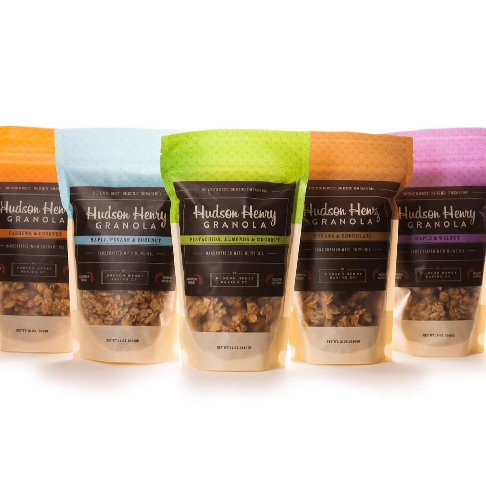 Something For Everyone Granola Sampler by Hudson Henry Baking Co.
