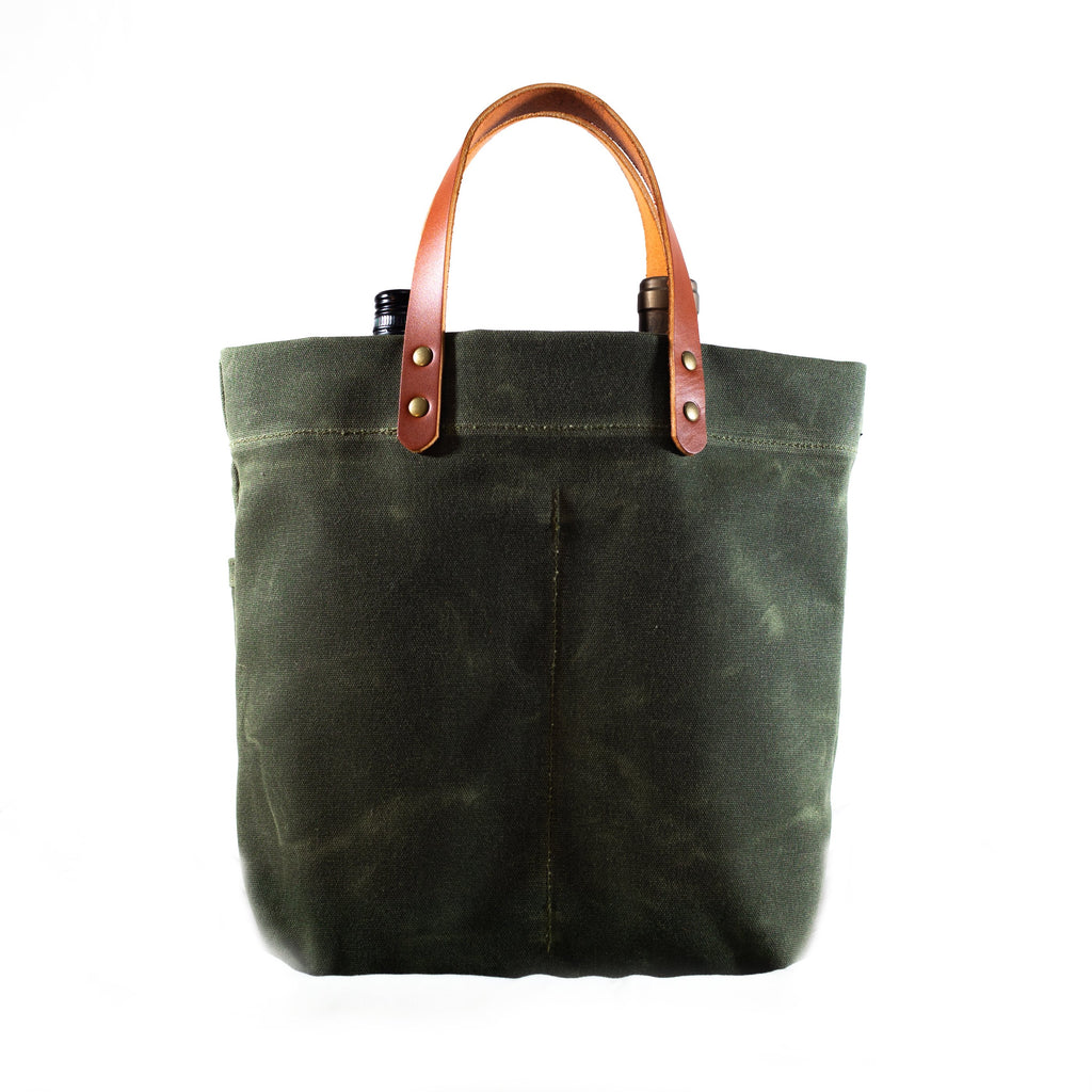 Bottle Tote, Olive