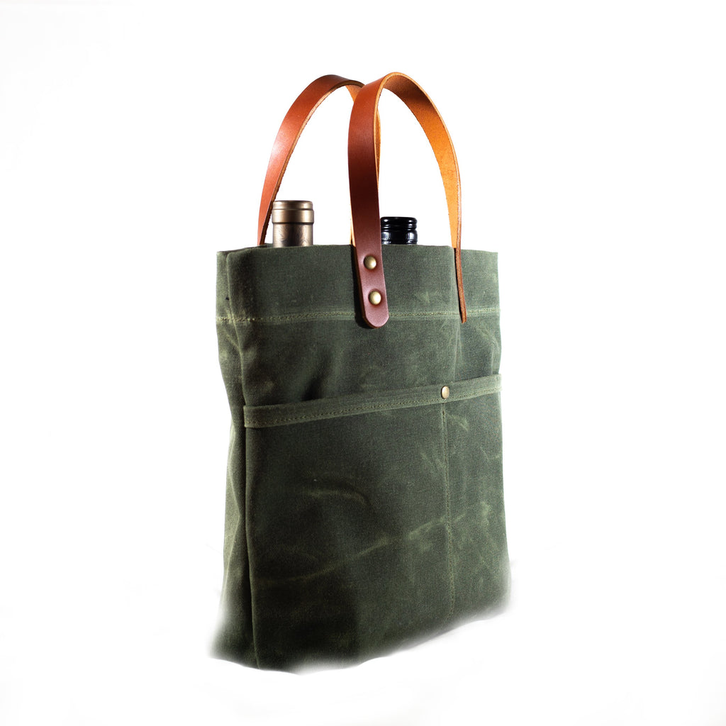 Bottle Tote - Olive