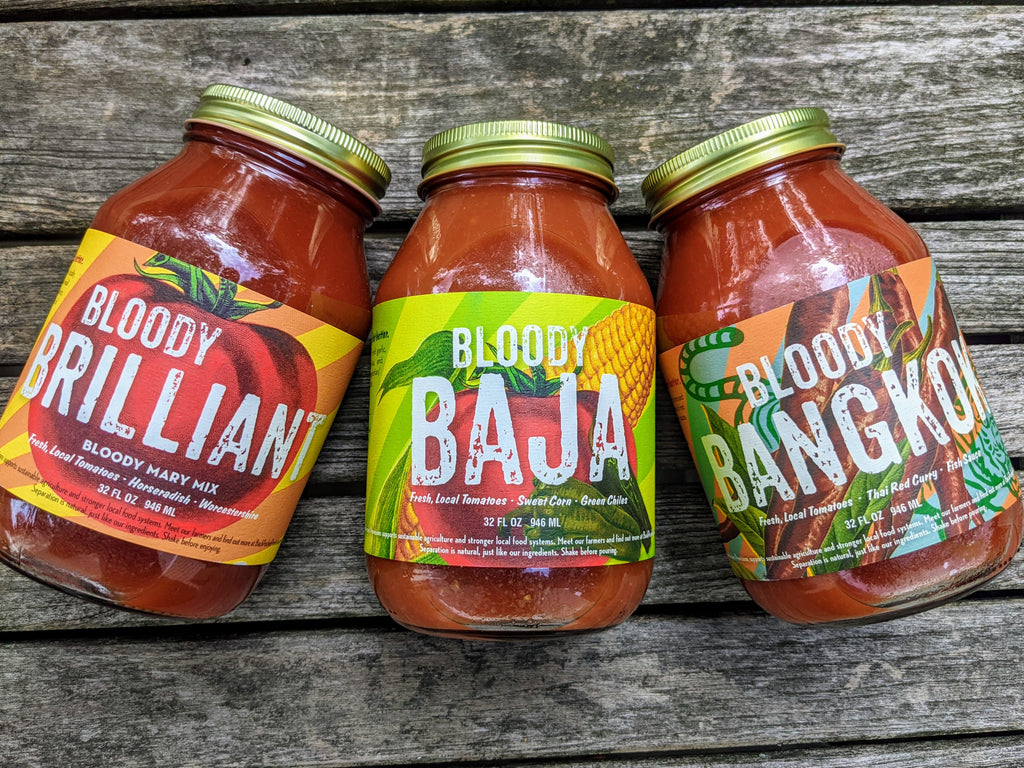 Bloody Mary Mix, Set of (3) Flavors, 32oz Bottles