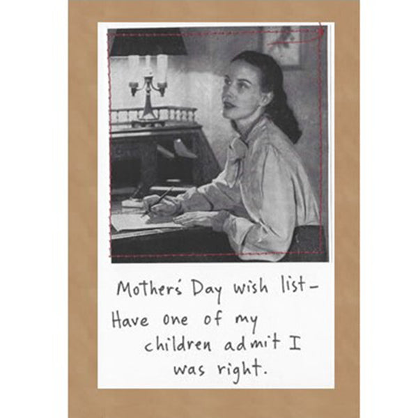 Mother & Father's Day Cards, 6 Card Set