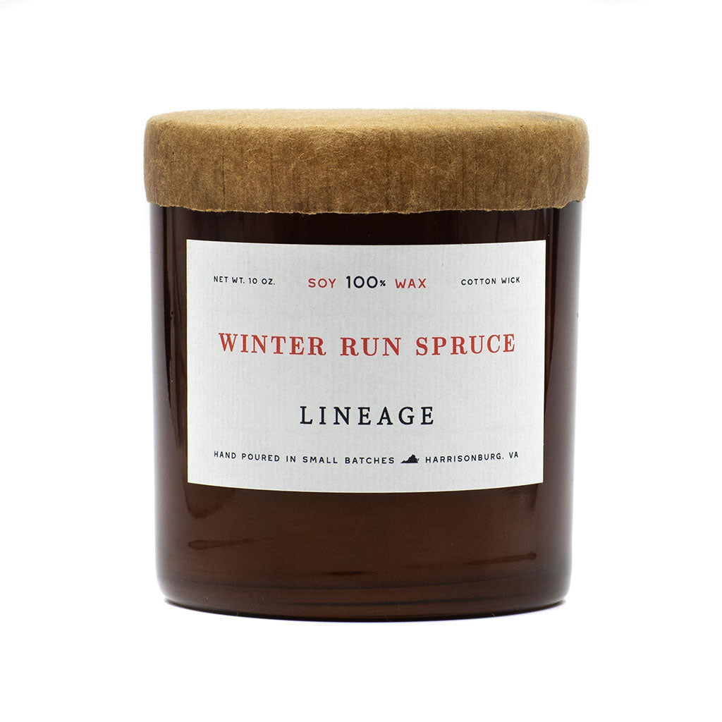 Winter Run Spruce Candle by Lineage Goods