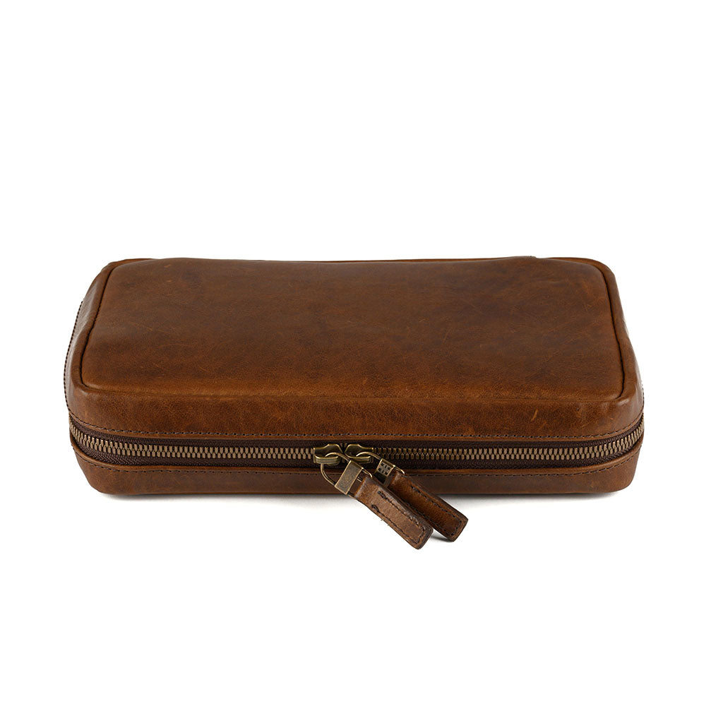 Kent Travel Kit, Leather
