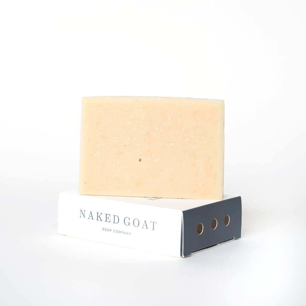 Raw Goat Milk Soap Bar in Clarity by Naked Goat Soap Co.