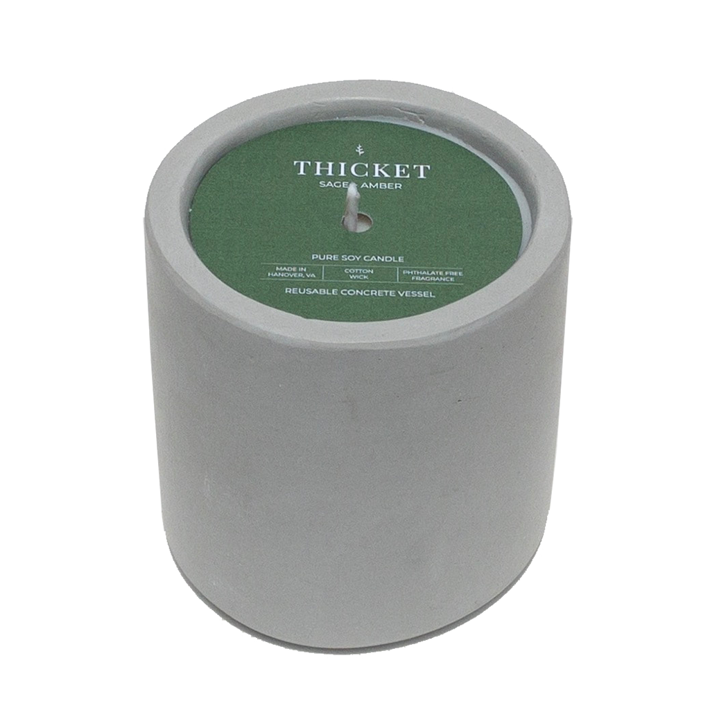 Thicket Soy Candle by Naked Goat Soap Co
